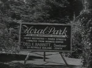 Babbitt Floral Heights billboard